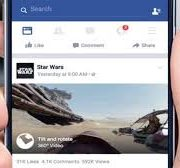 Facebook rolls out support for 360-degree videos for News Feed