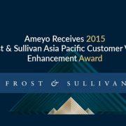 Ameyo Receives 2015 Frost & Sullivan Asia Pacific Customer Value Enhancement Award