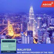 Aegis Clinches the Frost & Sullivan Malaysia BPO Service Provider of the Year Award