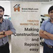 Brick2wall founders Shashank Garg and Nishant Garg