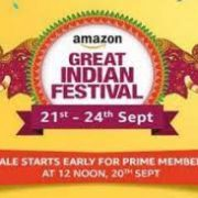 Amazon Great Indian Festival sale Starting September 21, here is what to expect :