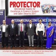 GFSU and New Media Holds the '1st Protector International Awards for Excellence in Forensic Science 2017'